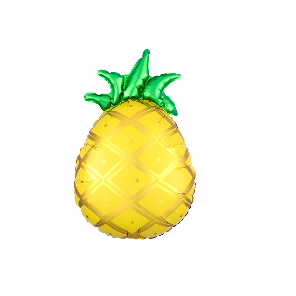 Golden Pineapple Junior Foil Tropical Party Balloon