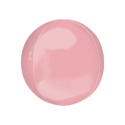 Pastel Pink Orbz Balloon  orb balloon Anagram - Hello Party