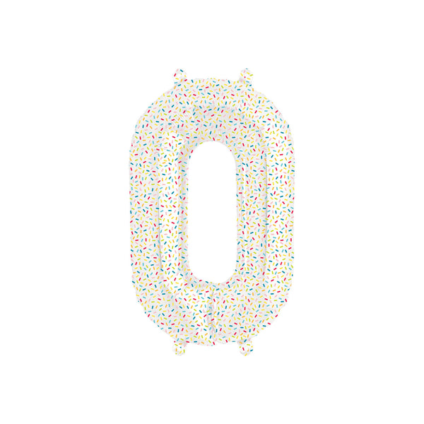 Sprinkles Number Balloons 0-9  Balloons Hello Party - All you need to make your party perfect! - Hello Party