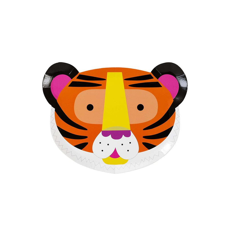 Party Animal Face Shaped Plates  Party Plates Talking Tables - Hello Party
