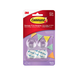 Command™ Party Banner Anchors  Party Hangers 3M Command - Hello Party