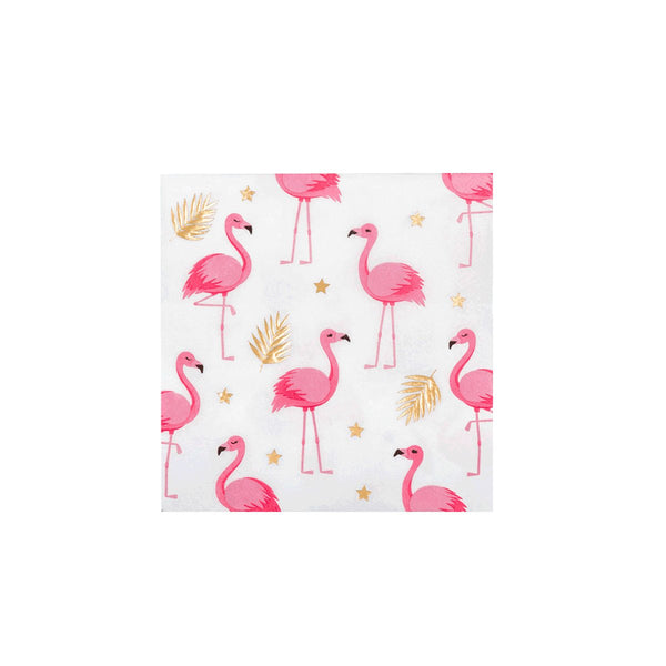 Luxe Flamingo Party Napkins