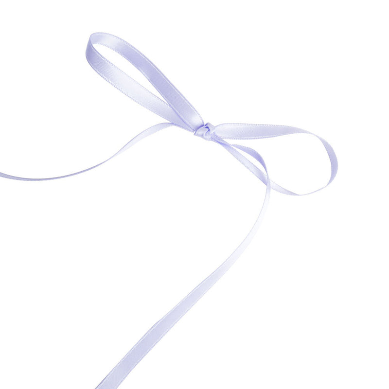 Lavender 6mm Satin Ribbon  Satin Ribbon Eleganza - Hello Party
