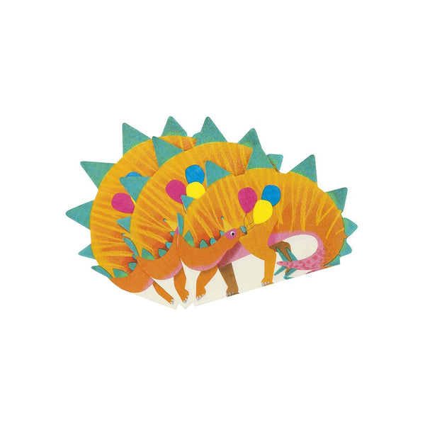 Party Dinosaur Shaped Napkins | Hello Party Stylish & Fun Tableware