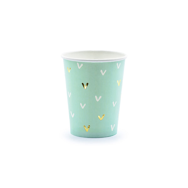 Pastel Cactus Party Paper Cups
