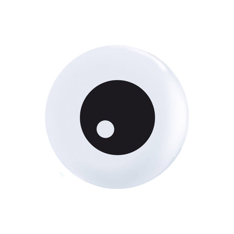 "White Eye 11"" Halloween balloons (pack of 3)"