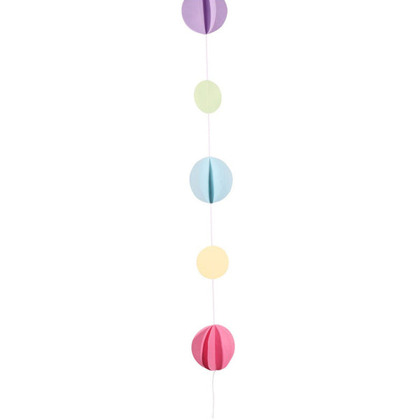 Pastels Circles Balloon Tail