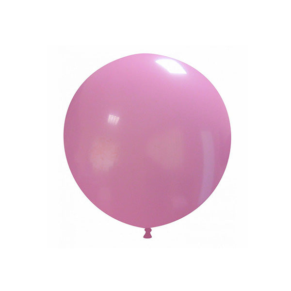 "Pink Big Round Balloon 19""  Big Round Latex Balloons Hello Party Essentials - Hello Party"