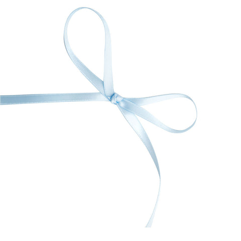 Light Blue 6mm Satin Ribbon