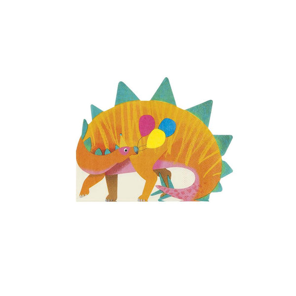 Party Dinosaur Shaped Napkins  Napkins Talking Tables - Hello Party