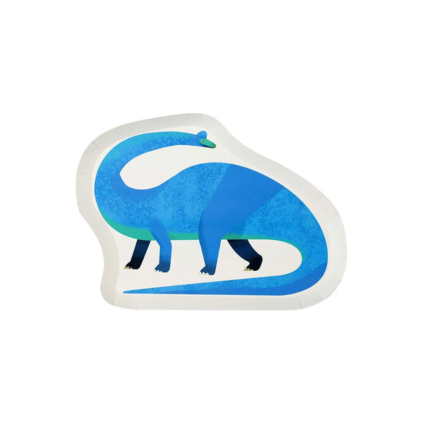 Party Dinosaur Shaped Plates  Party Plates Talking Tables - Hello Party
