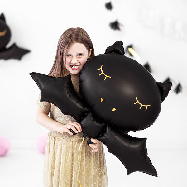 Cute Halloween Party Bat Foil Balloon