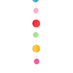 Primary Colour Circles Balloon Tail  Balloon Tail Kaleidoscope - Hello Party