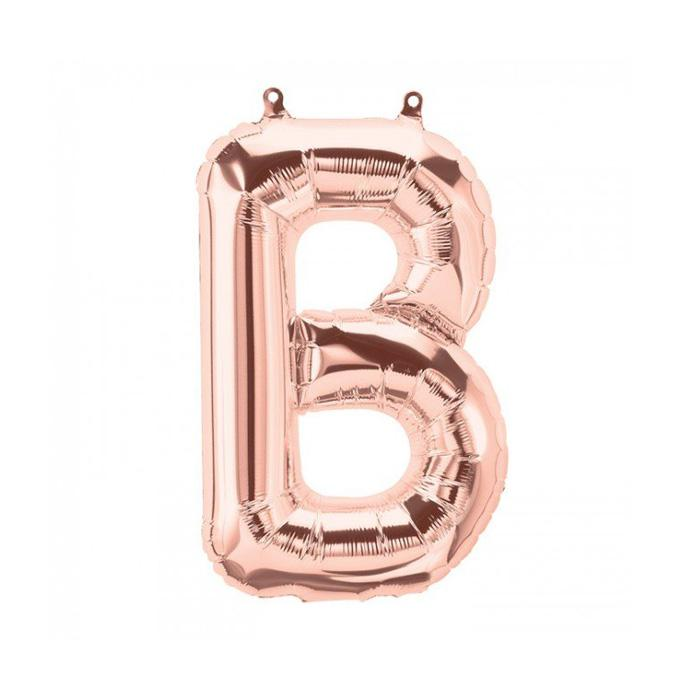 "Rose Gold Letter Foil Balloons (16"")  Balloons Northstar Balloons - Hello Party"