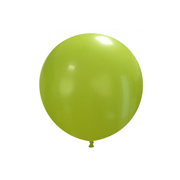 "Green Big Round Balloon 19""  Big Round Latex Balloons Hello Party Essentials - Hello Party"