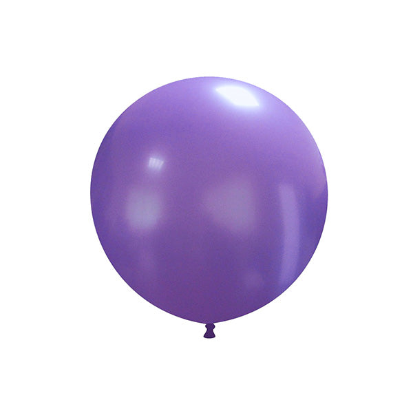 "Lavender Big Round Balloon (19"")  Big Round Latex Balloons Hello Party Essentials - Hello Party"