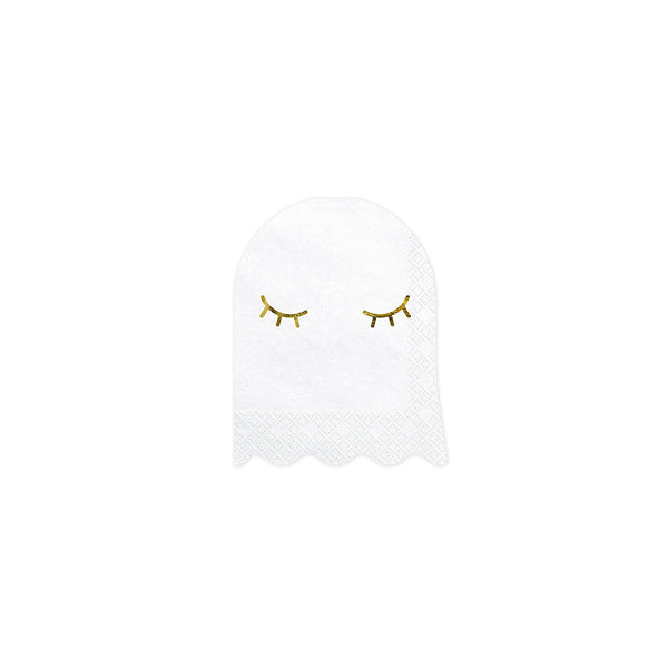 Cute Ghost Shaped Paper Napkins Halloween Party