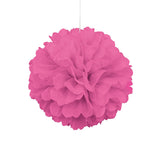 Pink Pom Pom Hanging Decoration