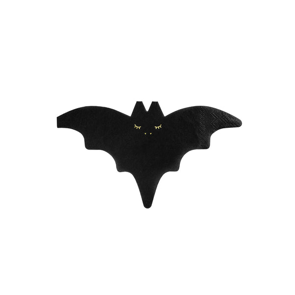Cute Bat Shaped Paper Napkins Halloween Party