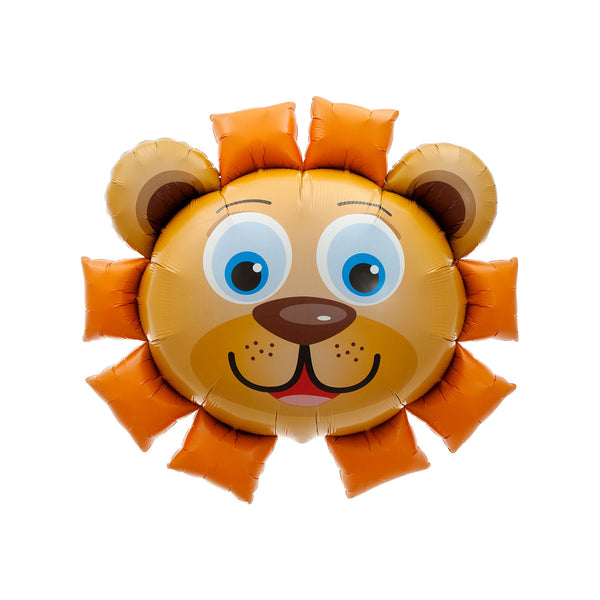 "Huge Lion Head Foil Balloon (35"")  Balloons Hello Party - All you need to make your party perfect! - Hello Party"