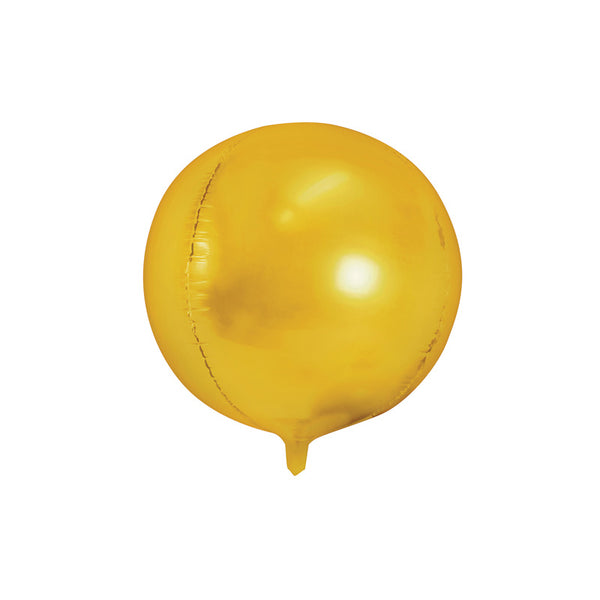 "Gold Foil Ball Balloon (16"")"