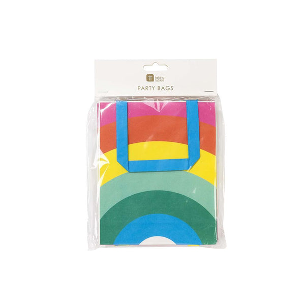 Birthday Brights Rainbow Treat Bags  Party Bags Talking Tables - Hello Party