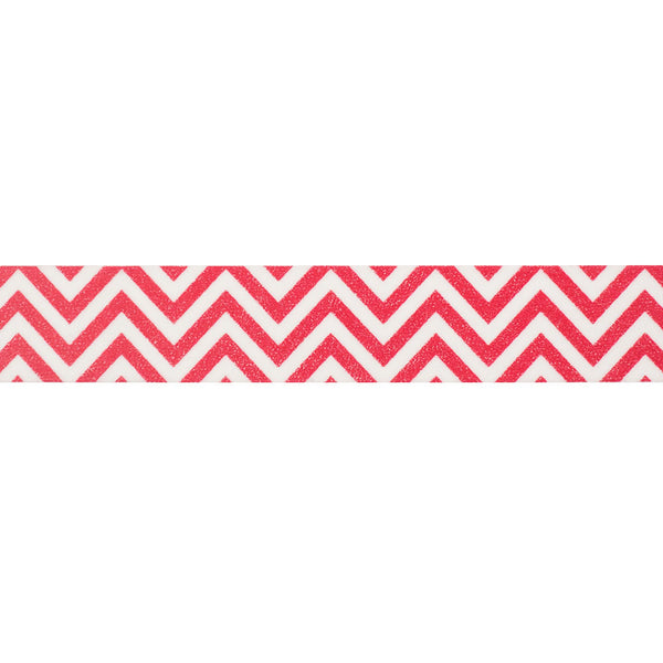 Red Chevron Washi Tape