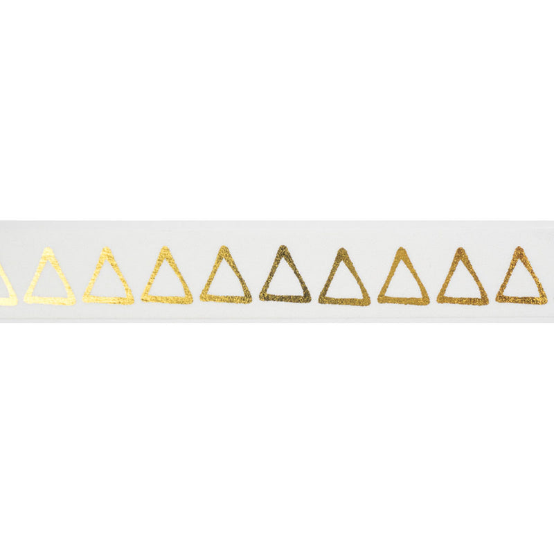 Gold Triangles Washi Tape  Washi Tape Hello Party Essentials - Hello Party