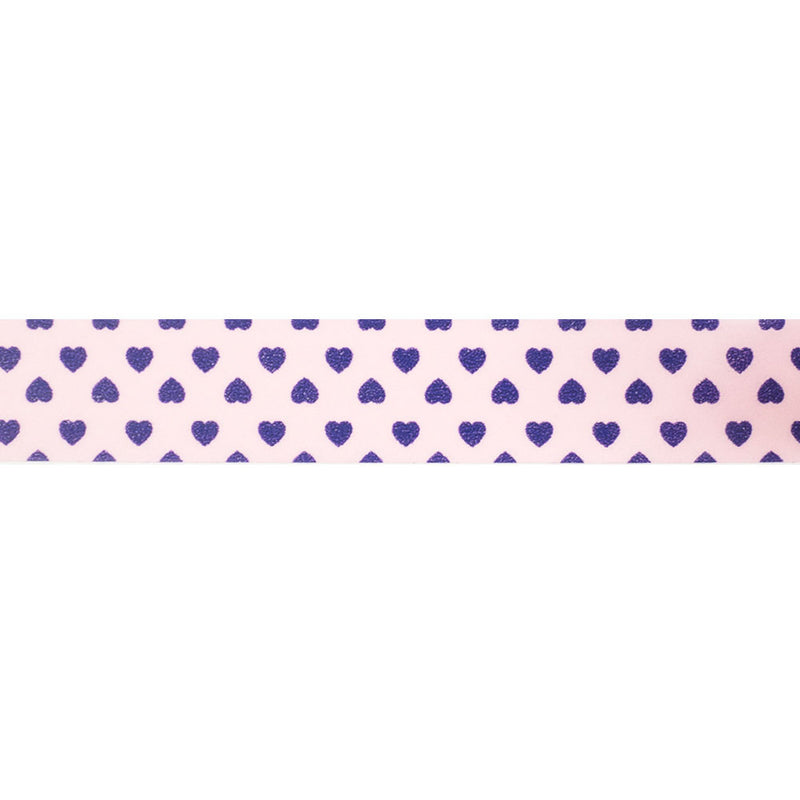 Pink with Purple Hearts Washi Tape  Washi Tape Hello Party Essentials - Hello Party