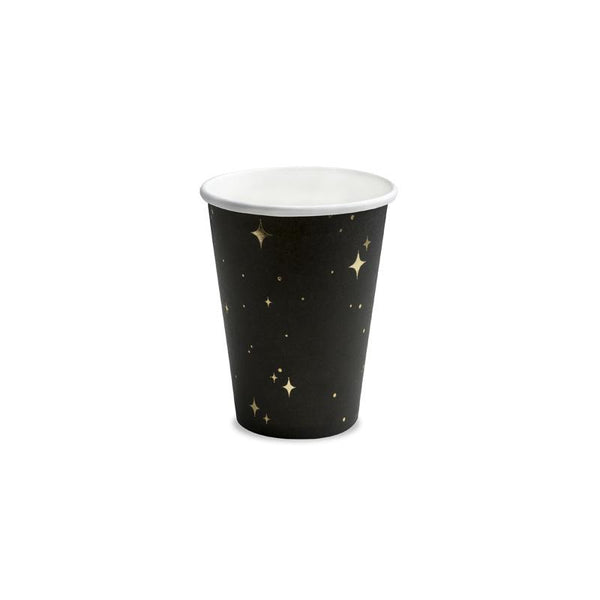Golden Midnight Paper Cups  Party Cups Party Deco - Hello Party