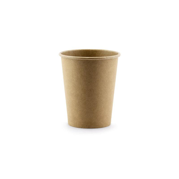 Brown Kraft Paper Cups  Party Cups Party Deco - Hello Party