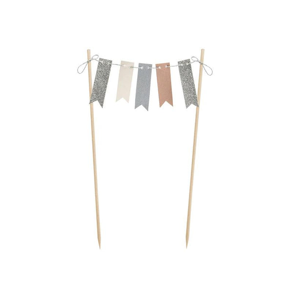 Bunting Garland Cake Topper  Cake Toppers Party Deco - Hello Party