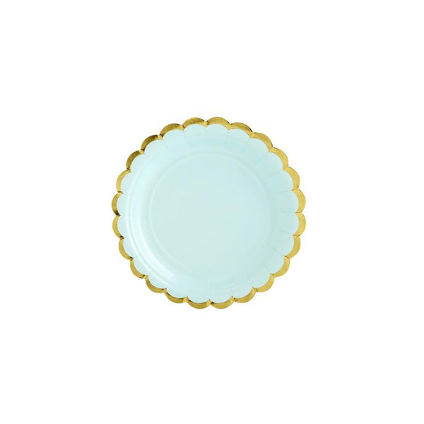 Pretty Pastels Mint Green Plates  Party Plates Party Deco - Hello Party
