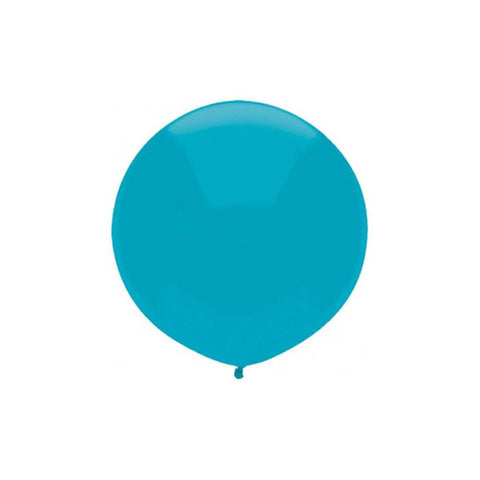 Large Round Island Blue Balloon 17""