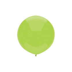 "Large Round Green Balloon 17""  Big Round Latex Balloons Hello Party Essentials - Hello Party"