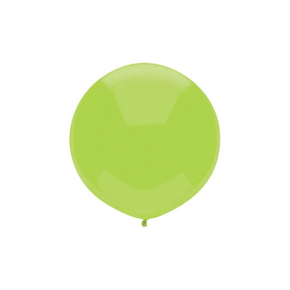Large Round Green Balloon 17""