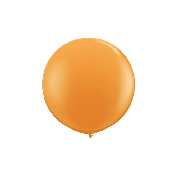 Large Round Orange Balloon 17""