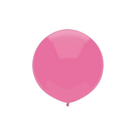 Large Round Pink Balloon 17""