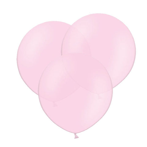 "Pink Big Round Balloon 19"" (Pack of 3)"