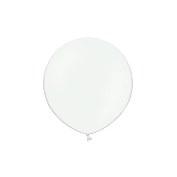"Clear Big Round Balloon 19""  Big Round Latex Balloons Hello Party Essentials - Hello Party"