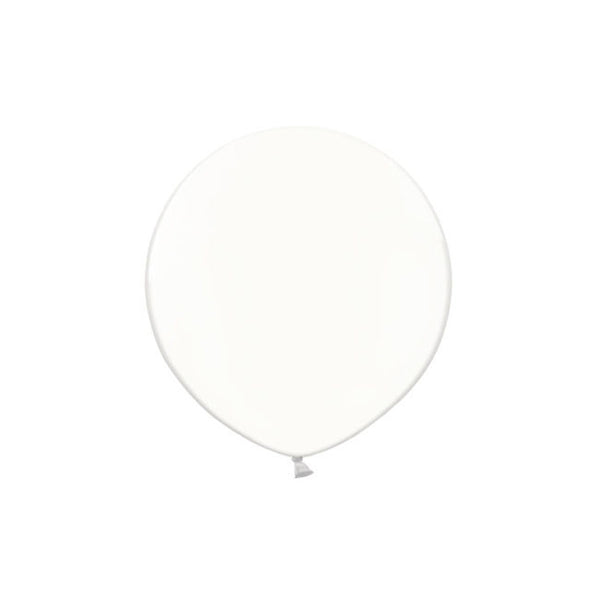 White Big Round Balloon 19