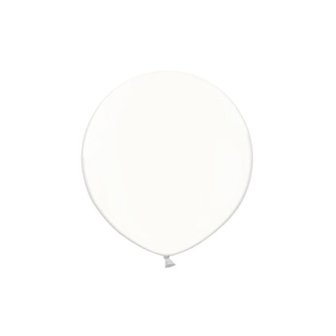 White Big Round Balloon 19""