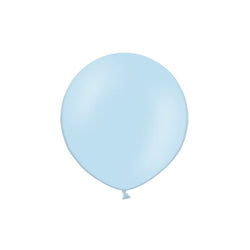 "Sky Blue Big Round Balloon 19""  Big Round Latex Balloons Hello Party Essentials - Hello Party"