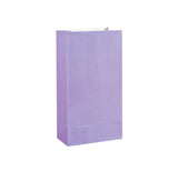 Lavender Paper Sweet Bags (Pack of 12)