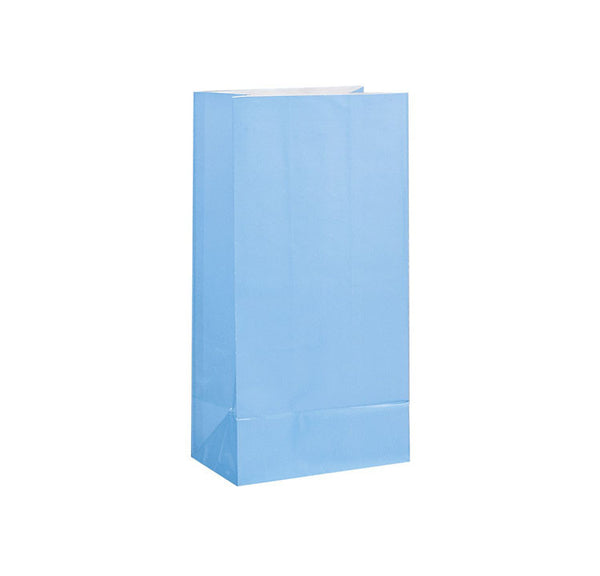 Pastel Blue Paper Sweet Bags  Party Bags Hello Party - All you need to make your party perfect!  - Hello Party