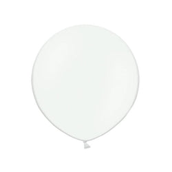 "Big Round White Latex Balloon 24""  Big Round Latex Balloons Hello Party Essentials - Hello Party"