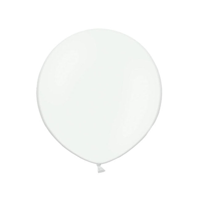 "Big Round Clear Latex Balloon 24""  Big Round Latex Balloons Hello Party Essentials - Hello Party"