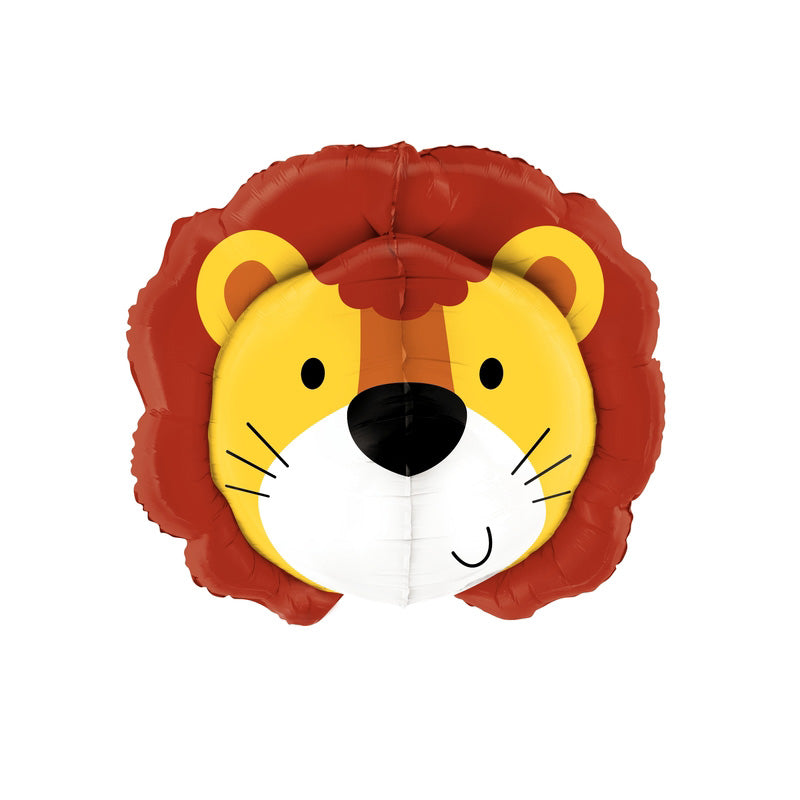 "Friendly Lion Multi Sided Foil Balloon (30"")  Supershape Balloons Betallic - Hello Party"