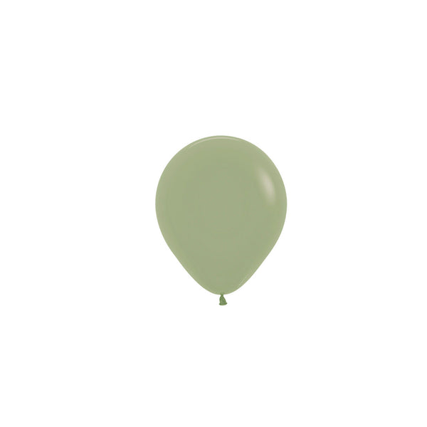 Eucalyptus Green Mini Balloons (Pack of 5)