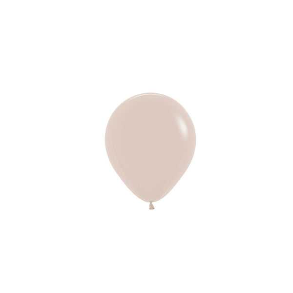 White Sand Mini Balloons (Pack of 5)